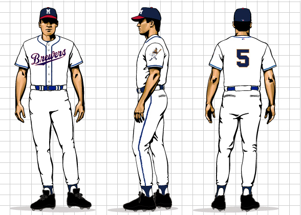 "new styles 0b484 3d44d Brewers Uniform Concept #2 ""The New Classic"""